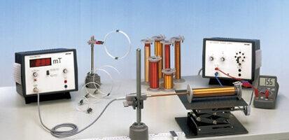 Campo magnético en bobinas simples - ley de Biot-Savart P2430201