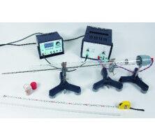 Determinación de la velocidad del sonido con tubo de Kundt y generador de funciones digital P2150605