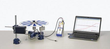 Momento de inercia y aceleración angular con sensor P2131363