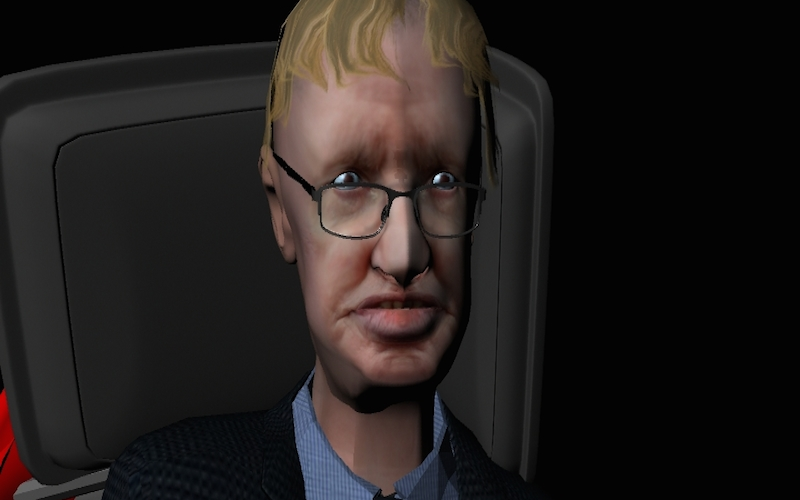 Stephen Hawking VR